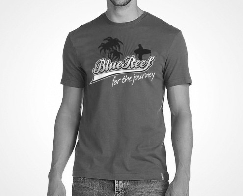 T-Shirt design for Blue Reef by BLU:72 Creative