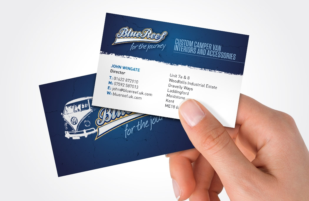 Branding - Business Card Design Nottingham by BLU:72 Creative