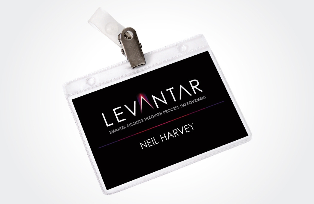 Branding design for Levantar by BLU:72 Creative, Nottingham