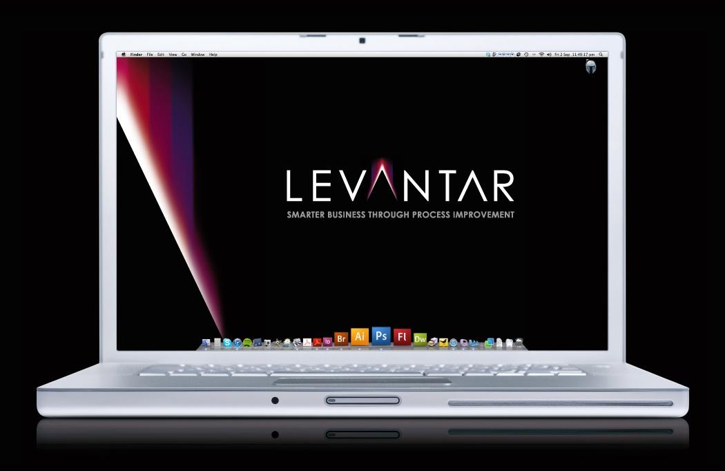 Branding design for Levantar by BLU:72 Creative, Nottingham