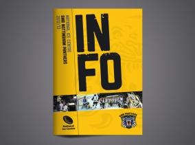 Nottingham Panthers brochure design by BLU:72 Creative