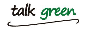 Talk Green's old logo