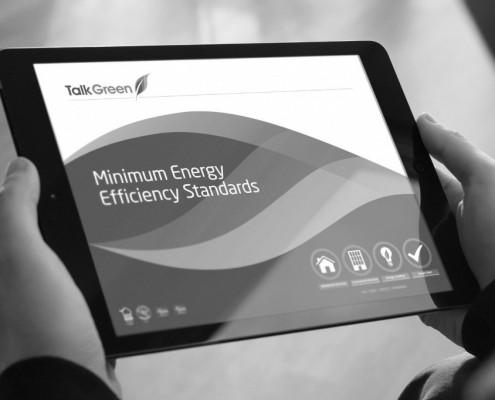 PowerPoint presentation design by BLU:72 Creative for Talk Green