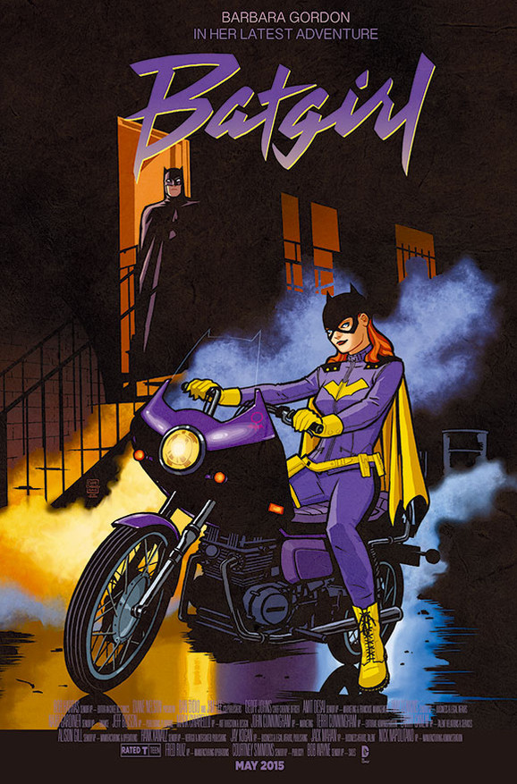 Batgirl Purple Rain movie poster