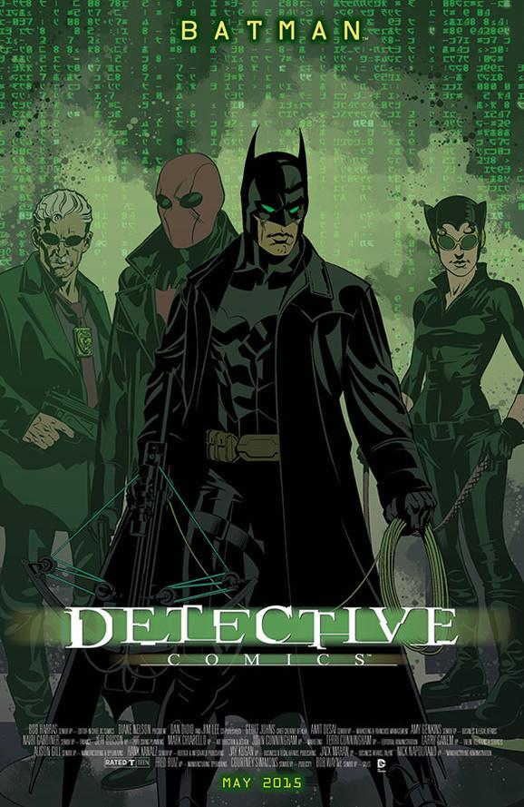 Batman - Matrix movie poster