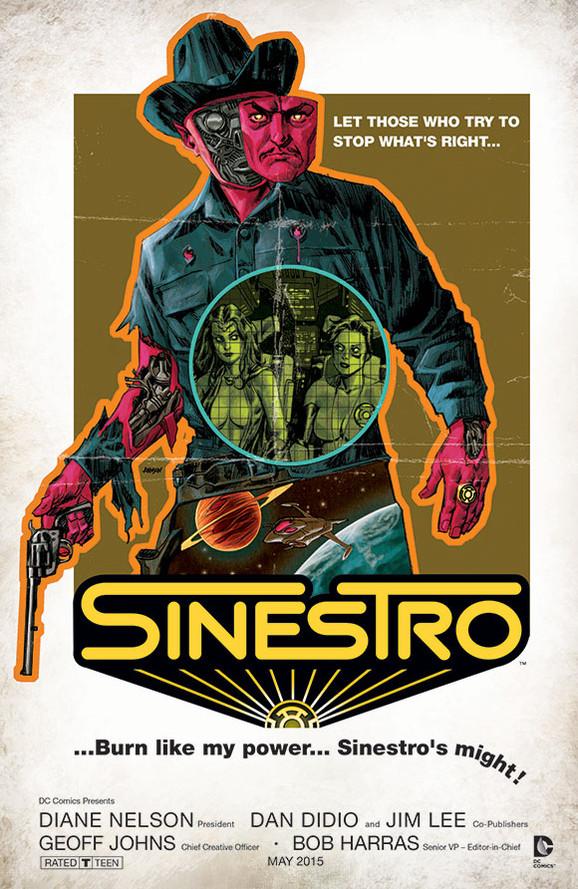 Sinestro - Westworld movie poster