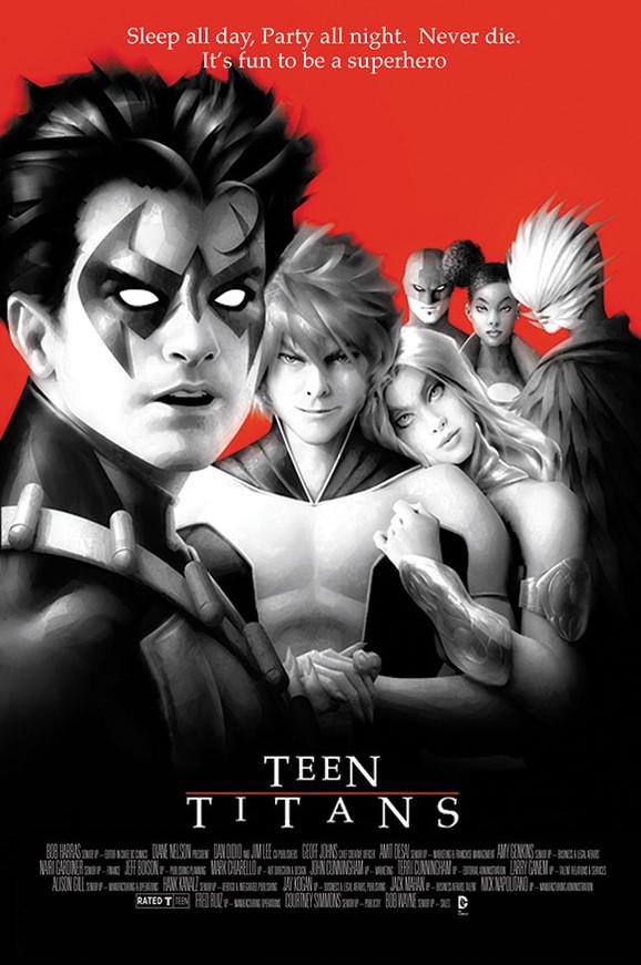 Teen Titans - Lost Boys movie poster