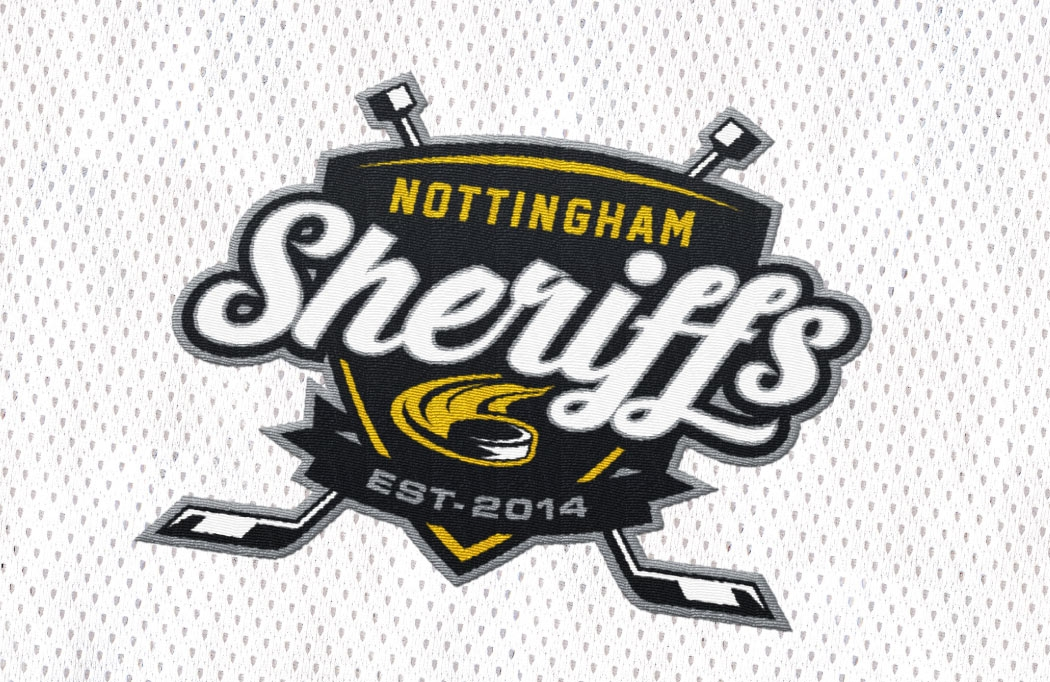 Logo design for Nottingham Sheriffs - Ice Hockey Design