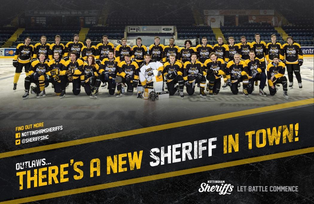 Graphic Design Nottingham - Design and branding for Nottingham Sheriffs Ice Hockey Club