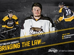 Graphic Design Nottingham - Design and branding for Nottingham Sheriffs Ice Hockey Club