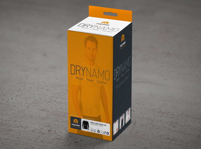Packaging Design - DryNamo