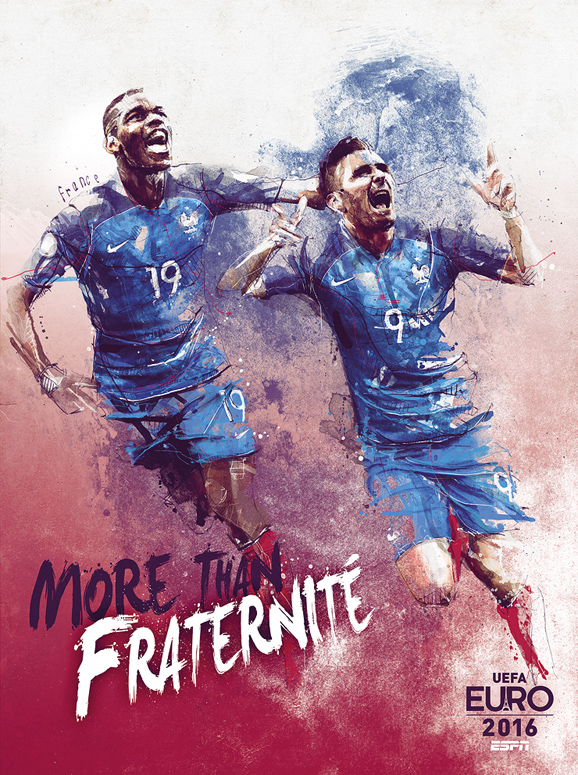 Euro 2016 illustrations France