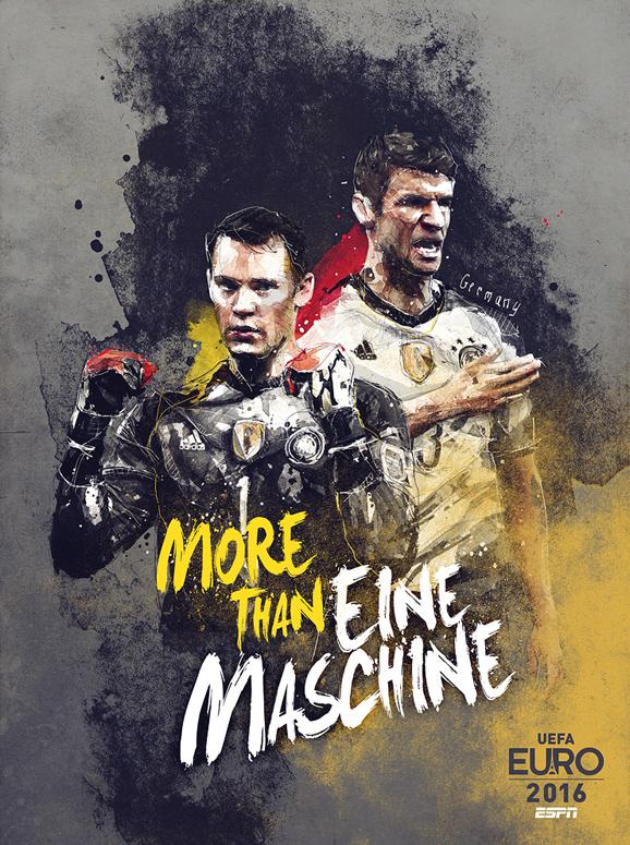 Euro 2016 illustrations Germany
