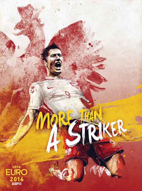 Euro 2016 illustrations Poland