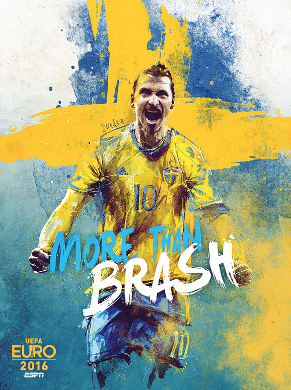 Euro 2016 illustrations Sweden