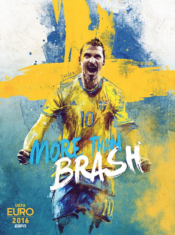 Euro 2016 illustrations Sweden