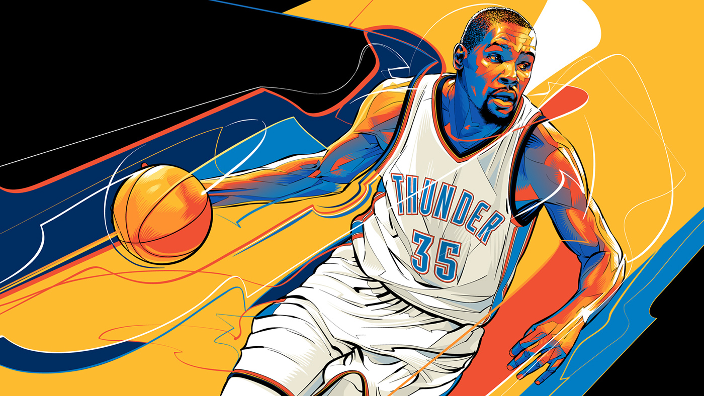 Kevin Durant of OKC