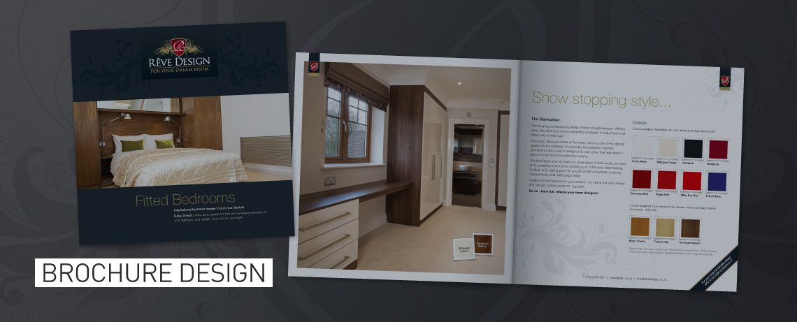 Brochure design by BLU:72 Creative - Graphic Design Agency Nottingham