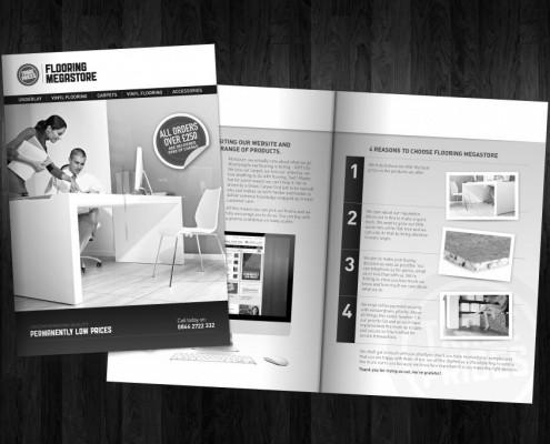 A5 Leaflet design for Flooring Megastore