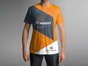 T-Shirt design for Moorbridge IT by BLU:72 Creative