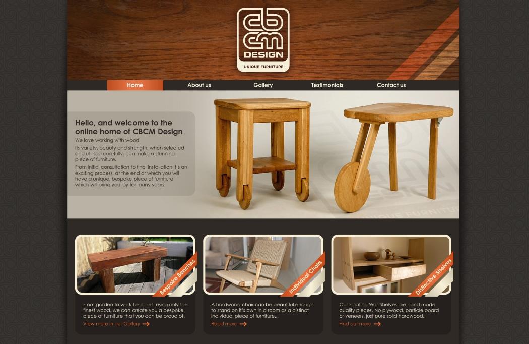 CBCM Web Design, Branding and Logo Design by BLU:72 Creative, Nottingham
