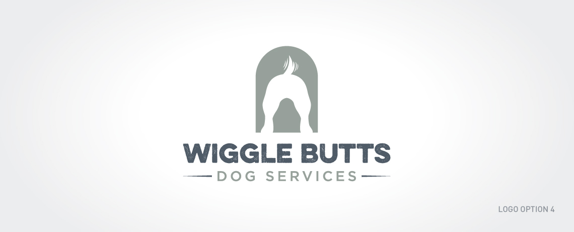 Logo design concepts for Wiggle Butts