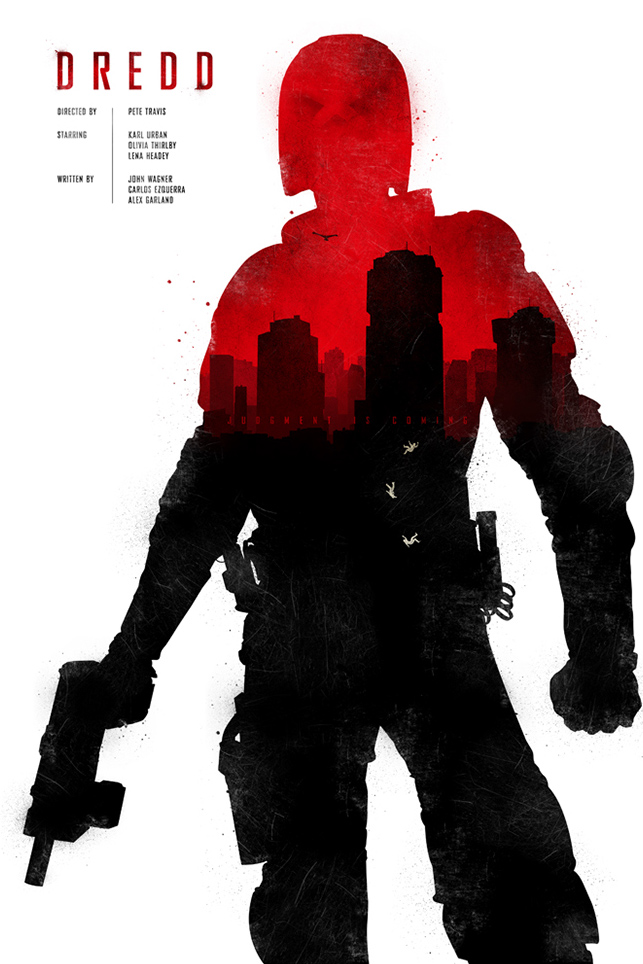 Movie Poster Design - Joseph Harrold - Dredd