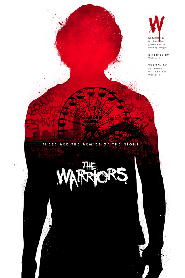 Movie Poster Design - Joseph Harrold - The Warriors