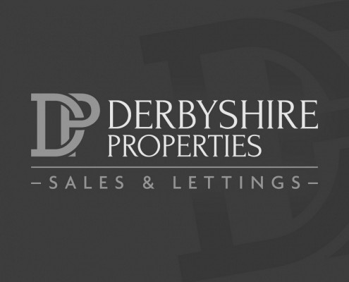 Logo design for Derbyshire Properties by BLU:72 Creative