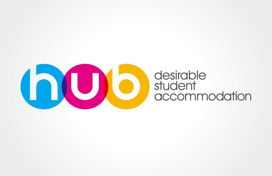 Logo design for Hub Properties by BLU:72 Creative