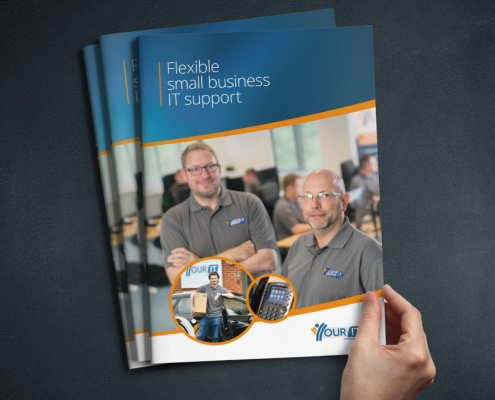 A4 16 pp Brochure for Your IT designed by BLU:72 Creative