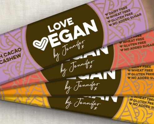 Love Vegan Branding designed by BLU:72 Creative